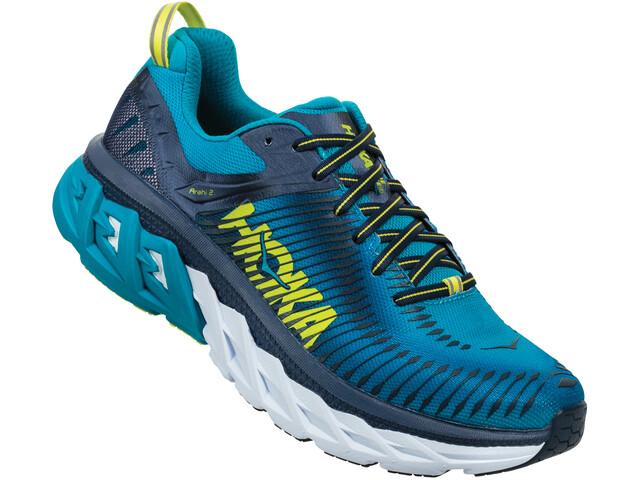 Hoka One One Arahi 2 Running Shoes Men caribbean sea/dress blue